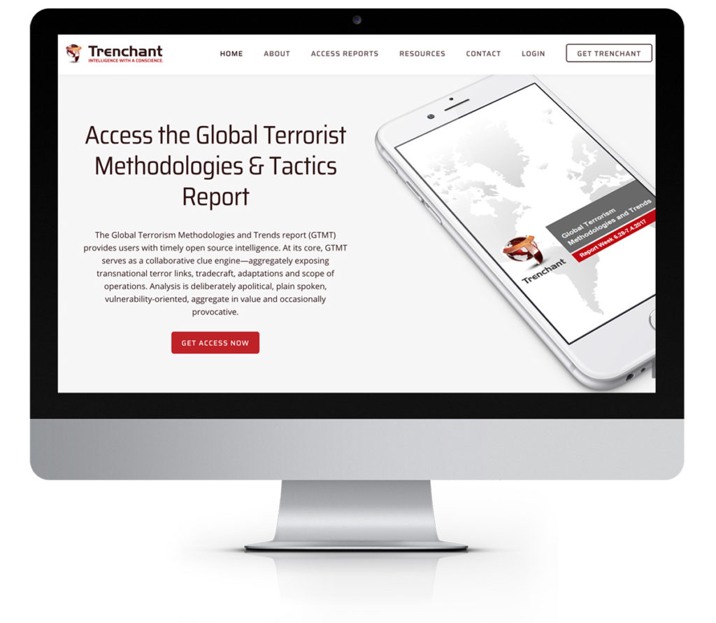 Trenchant Analysis Website Design on WordPress using Genesis Framework