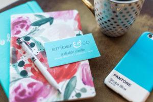 Ember & Co Design Studio, Web Design, Logo Design, Graphic Design, Print Design