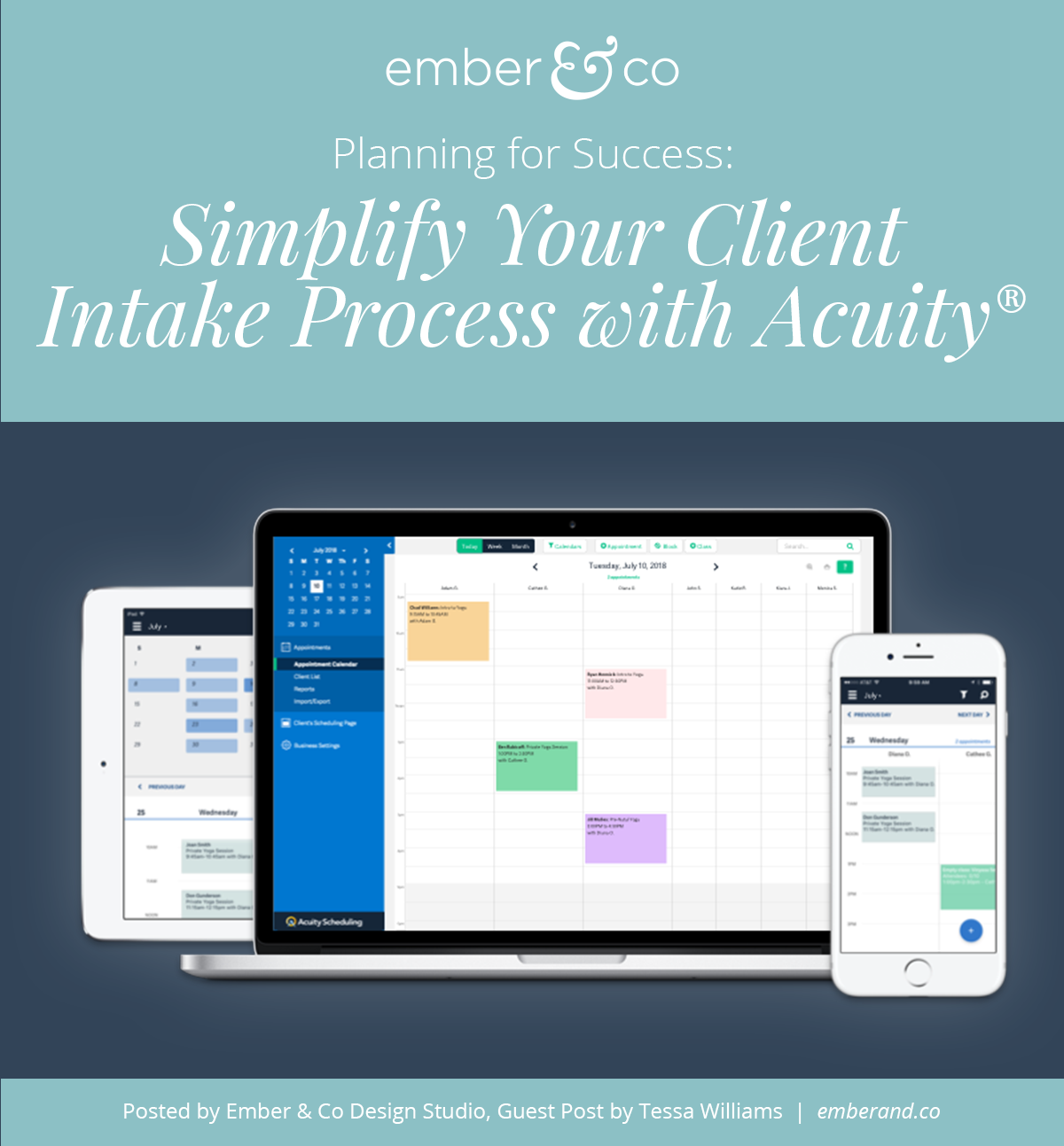 Planning for Success: Simplify Your Client Intake Process with Acuity