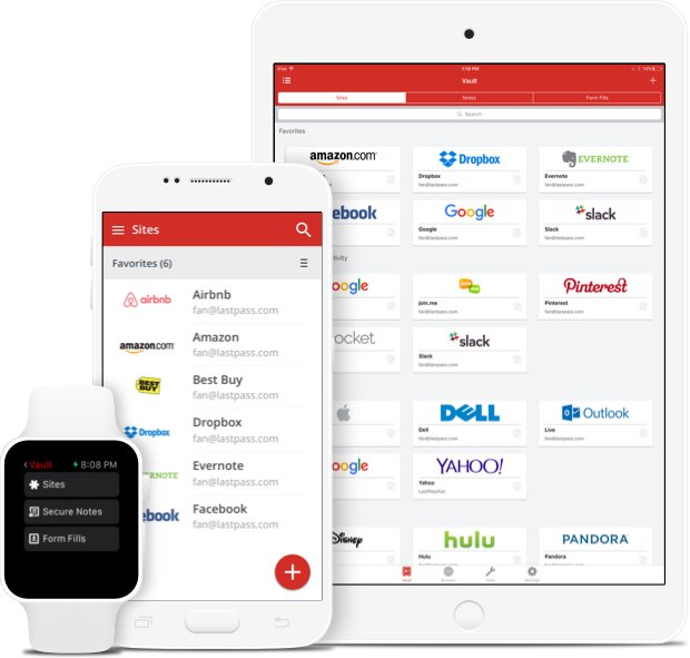 My favorite password management app: LastPass