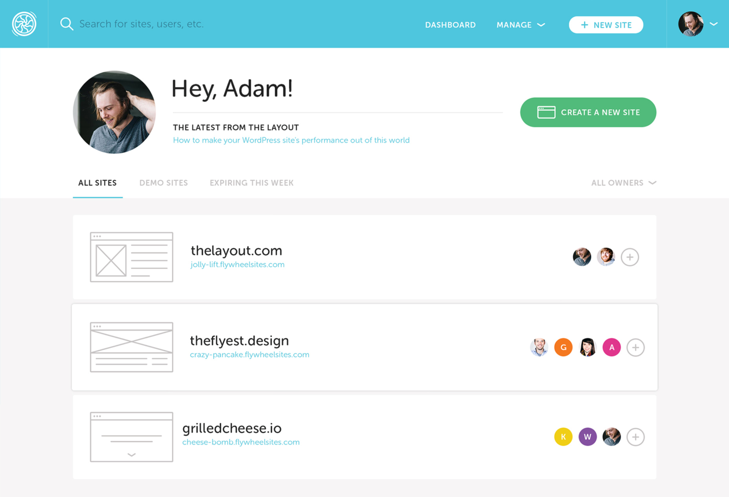 My favorite WordPress website host: Flywheel