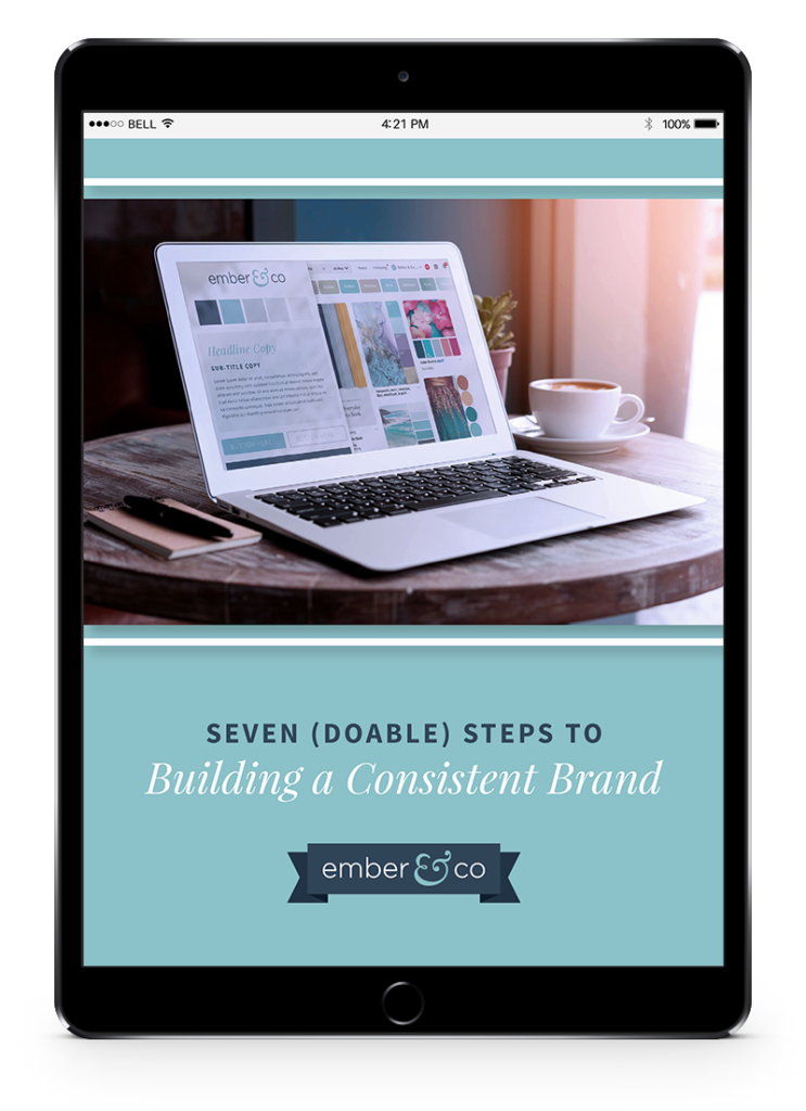 Free Guide: 7 Steps to Brand Consistency