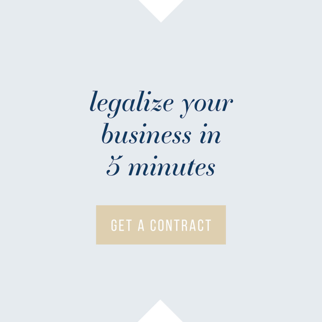Legalize your biz in 5 minutes with the Contract Shop!