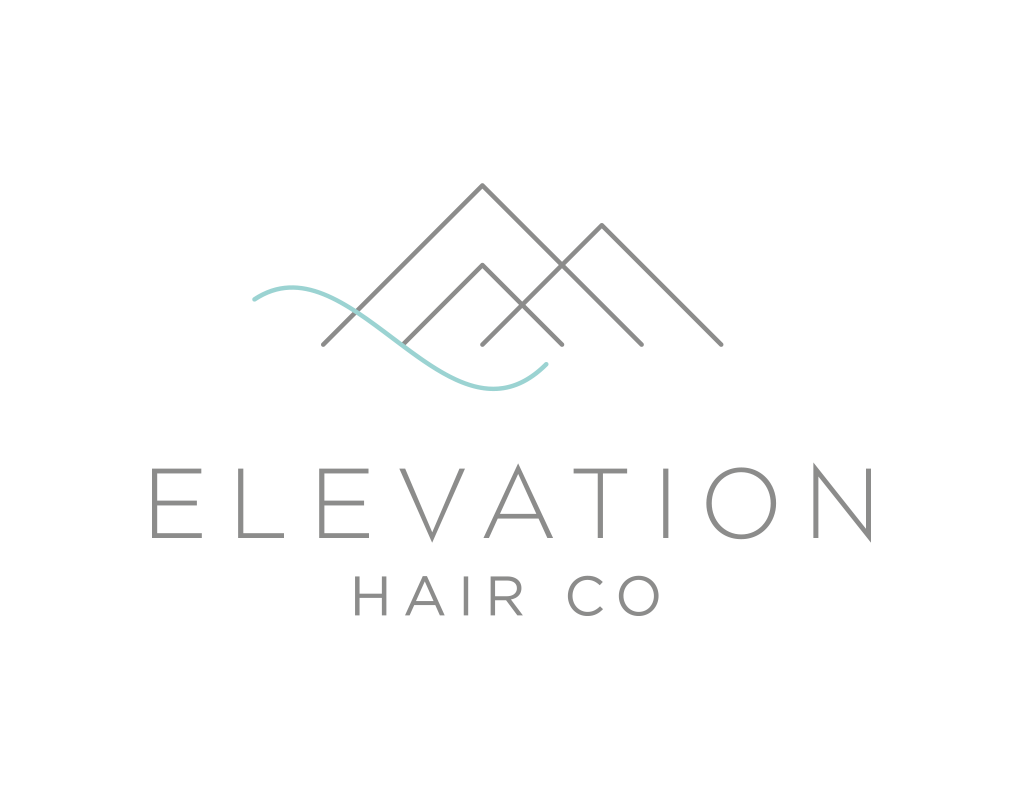 Elevation Hair Co Logo Design by Ember & Co Design Studio