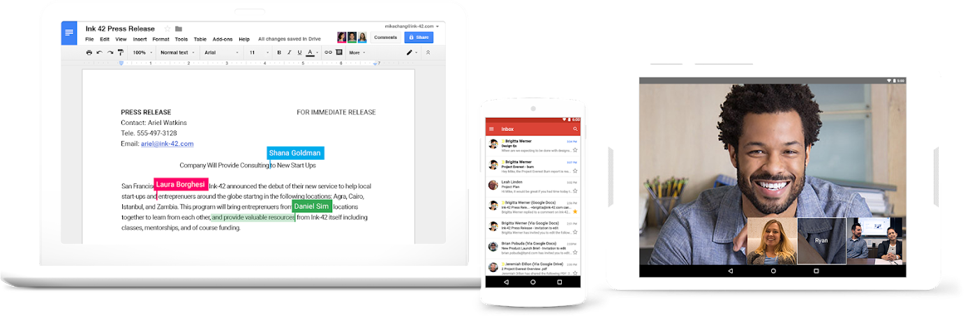 My favorite email app: G Suite / Google Apps